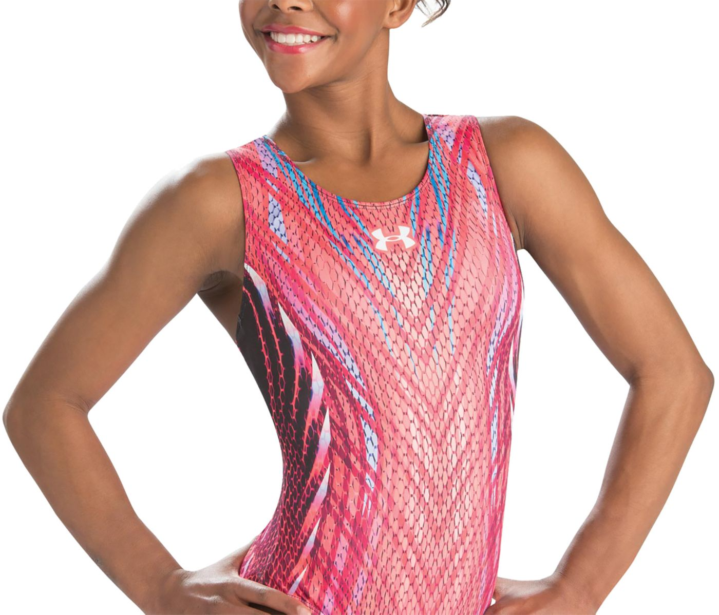 Under Armour Girls' ArmourFuse Innovate Gymnastics Leotard