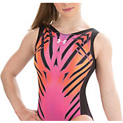 Under Armour Girls' ArmourFuse Radiate Gymnastics Leotard