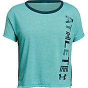 Under Armour Girls' Athlete Graphic T-Shirt