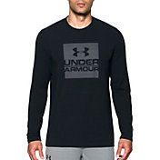 Under Armour Men's Boxed In Logo Graphic Long Sleeve Shirt