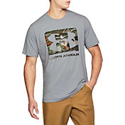 Under Armour Men's Camo Knockout Logo T-Shirt