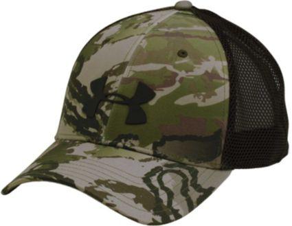 Under Armour Men s Camo Mesh 2.0 Trucker Hat. noImageFound e98251b58b33
