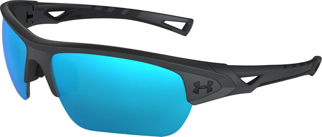 591c7db3a732 Under Armour Men's Octane Tuned Baseball/Softball Sunglasses ...