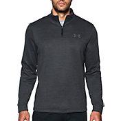 Under Armour Men's Armour Fleece Quarter Zip Slub Long Sleeve Shirt