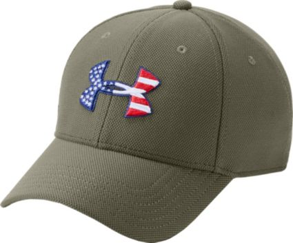 Under Armour Men s Freedom Flag Blitzing Hat. noImageFound 0ed273dd310
