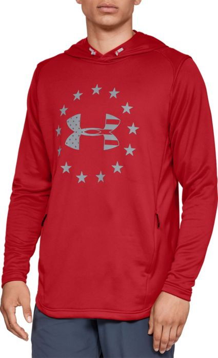 8f6fabb26b48 Under Armour Men s Freedom BFL Tech Terry Hoodie. noImageFound