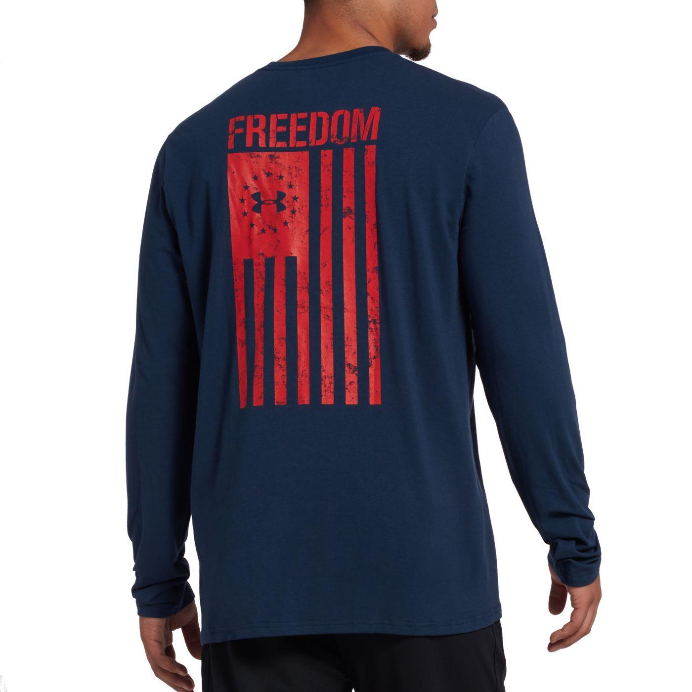 Under Armour Men's Freedom Flag Long Sleeve Shirt