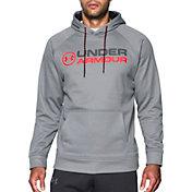 Under Armour Men's Armour Fleece Wordmark Graphic Hoodie