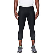 Under Armour Men's HeatGear Armour Compression Graphic 3/4 Length Leggings
