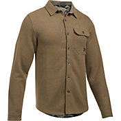 Under Armour Men's Buckshot Button Up Fleece Jacket