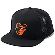 Under Armour Men's Baltimore Orioles Supervent Adjustable Snapback Hat