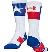 Under Armour Men's Unrivaled Texas Crew Socks