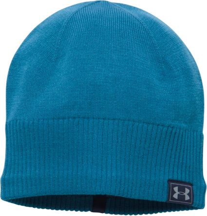 Under Armour Men s ColdGear Reactor Knit Beanie  17e1de962e2