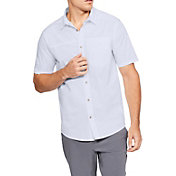 Under Armour Men's Pierpoint Woven Short Sleeve Shirt