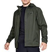 Under Armour Men's Overlook Shell Rain Jacket (Regular and Big & Tall)