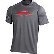 Under Armour Men's Auburn Tigers Grey Football Tech Performance T-Shirt