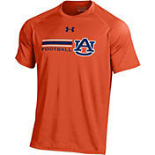Under Armour Men's Auburn Tigers Orange Football Tech Performance T-Shirt