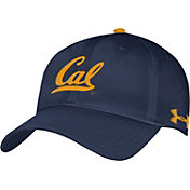 Under Armour Men's Cal Golden Bears Blue Renegade Adjustable Hat