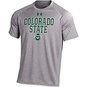 Under Armour Men's Colorado State Rams Grey Tech T-Shirt