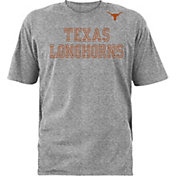 University of Texas Authentic Apparel Men's Texas Longhorns Grey Logo T-Shirt