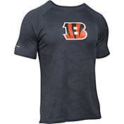 Under Armour NFL Combine Authentic Men's Cincinnati Bengals Tech Novelty Jacquard Performance T-Shirt