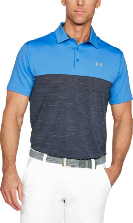 daba8fda Under Armour Playoff Blocked Polo | Golf Galaxy