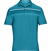 Under Armour Men's Playoff Hazard Stripe Golf Polo