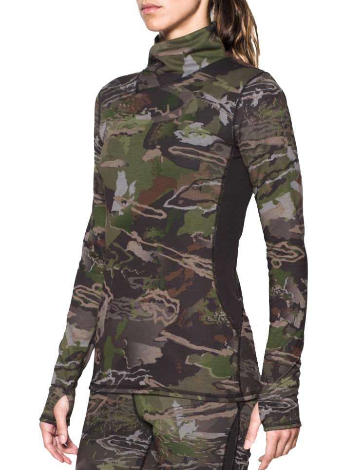 Under Armour Women's Wool Long Sleeve Base Layer, Size: Medium, Multi thumbnail
