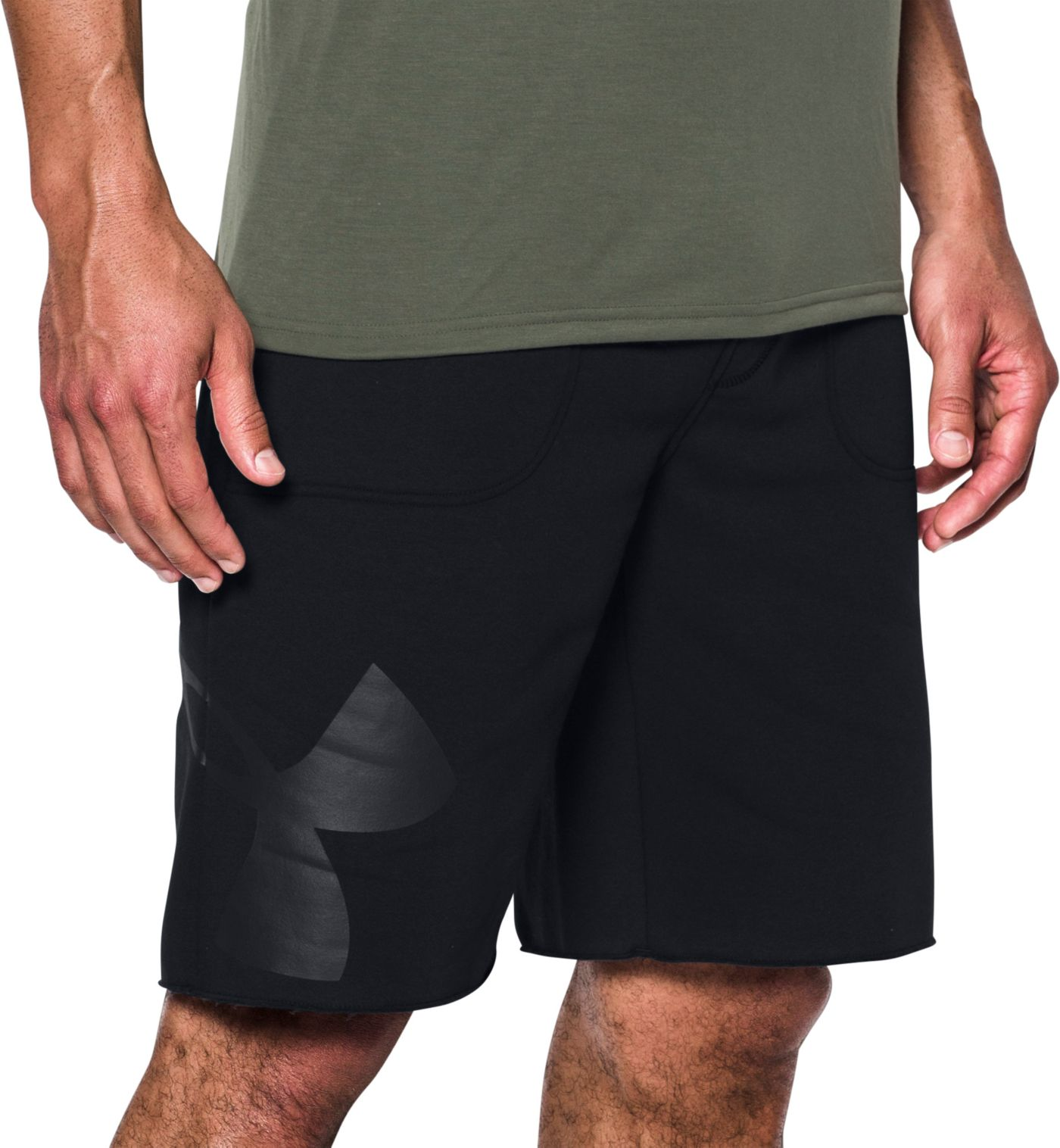 Under Armour Men's Rival Exploded Graphic Shorts