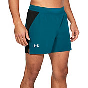 Under Armour Men's Threadborne Microthread Speedpocket Swyft 5'' Running Shorts