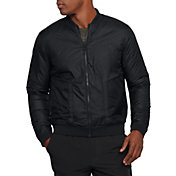 Under Armour Men's Sportstyle ColdGear Reactor Reversible Bomber Jacket