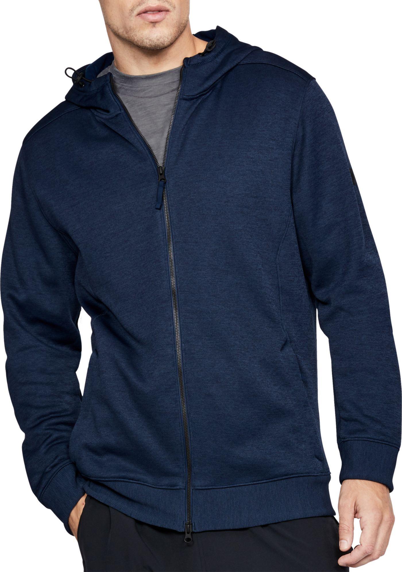 Under Armour Men's Sportstyle Sweater Fleece Full-Zip Long Sleeve T-Shirt