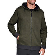 Under Armour Men's Sportstyle Sweater Fleece Full-Zip Long Sleeve T-Shirt