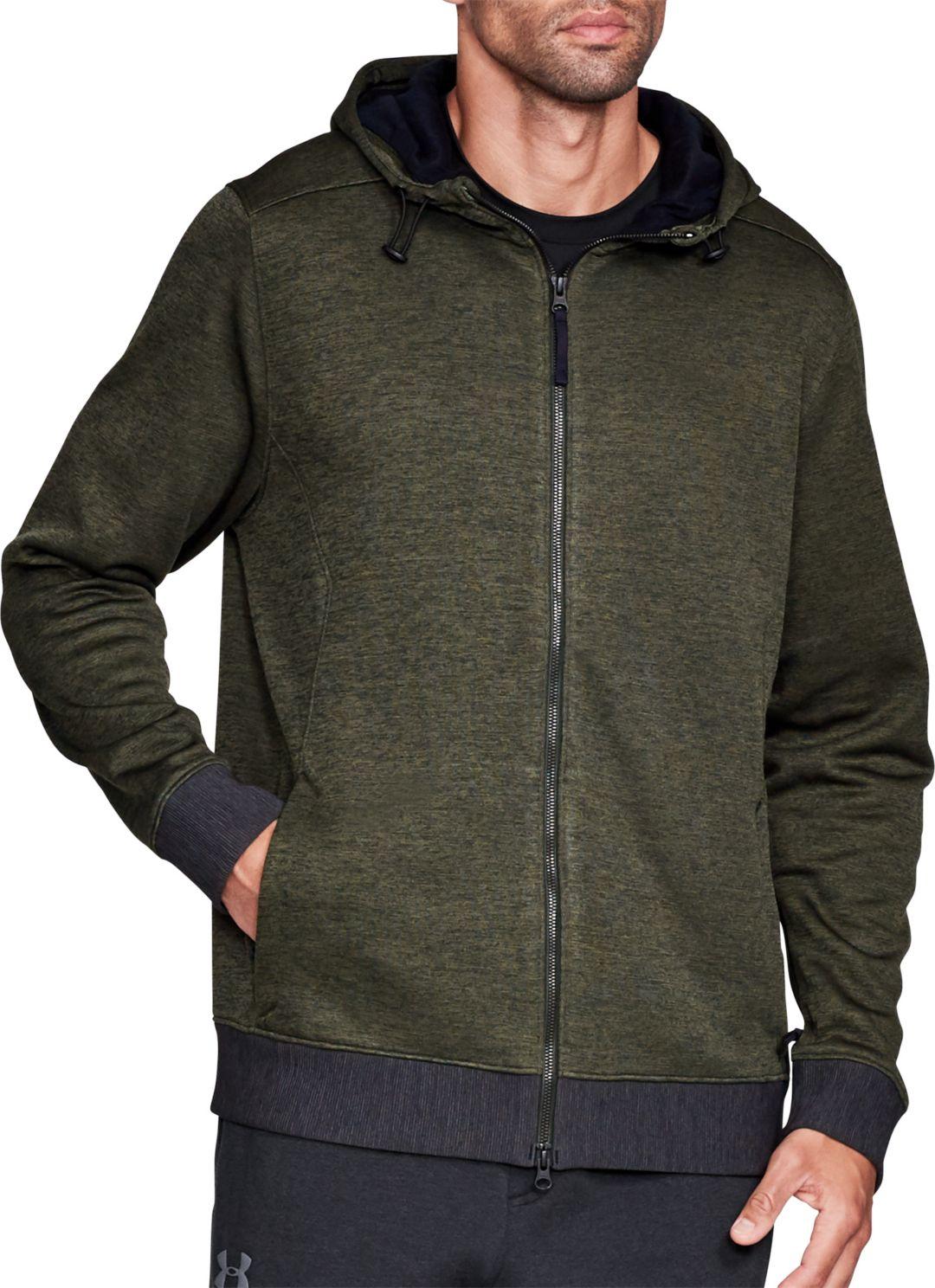 91f465530 Under Armour Men's Sportstyle Sweater Fleece Full-Zip Long Sleeve T-Shirt 1