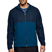 Under Armour Men's Sportstyle Woven Full Zip Hoodie