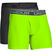 Under Armour Men's Original Series 6'' Boxerjock Boxer Briefs – 2 Pack