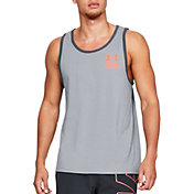 Under Armour Men's Stacked Left Chest Sleeveless Shirt