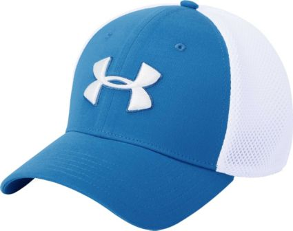 Under Armour Men s Threadborne Mesh Golf Hat. noImageFound 0375028d54b