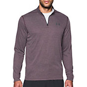 Under Armour Men's Threadborne Siro Herringbone Print ¼ Zip Long Sleeve Shirt