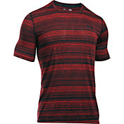 Under Armour Men's Threadborne Black Twist SportStyle T-Shirt