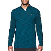 Under Armour Men's Threadborne Seamless 1/4 Zip Long Sleeve Shirt