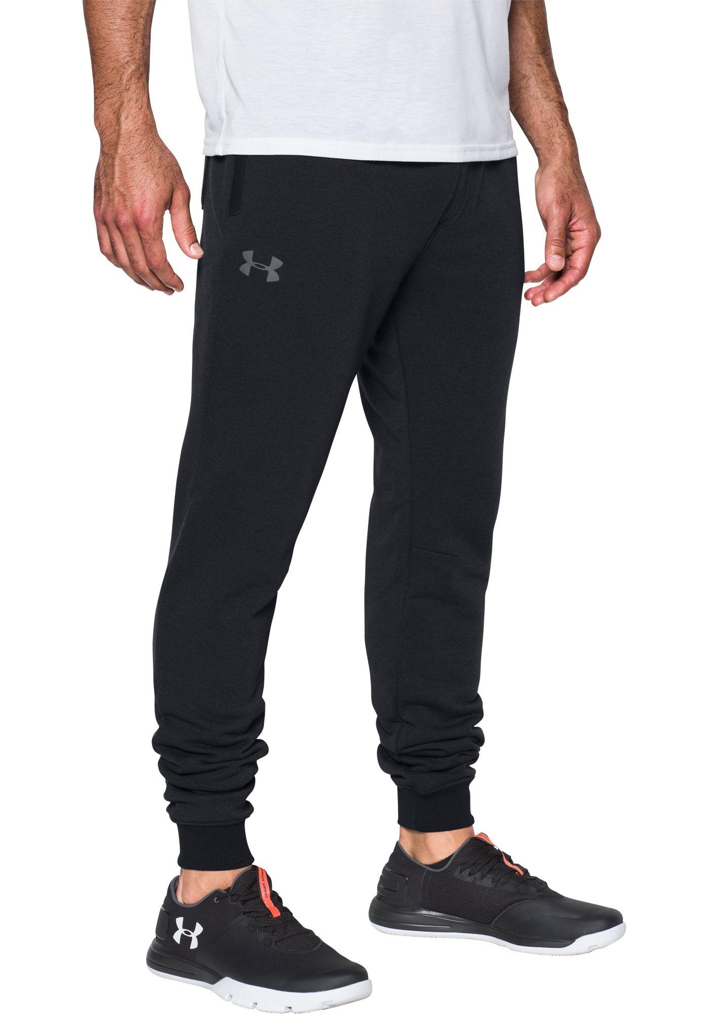 Under Armour Men's Threadborne Fleece Stacked Jogger Pants (Regular and Big & Tall)