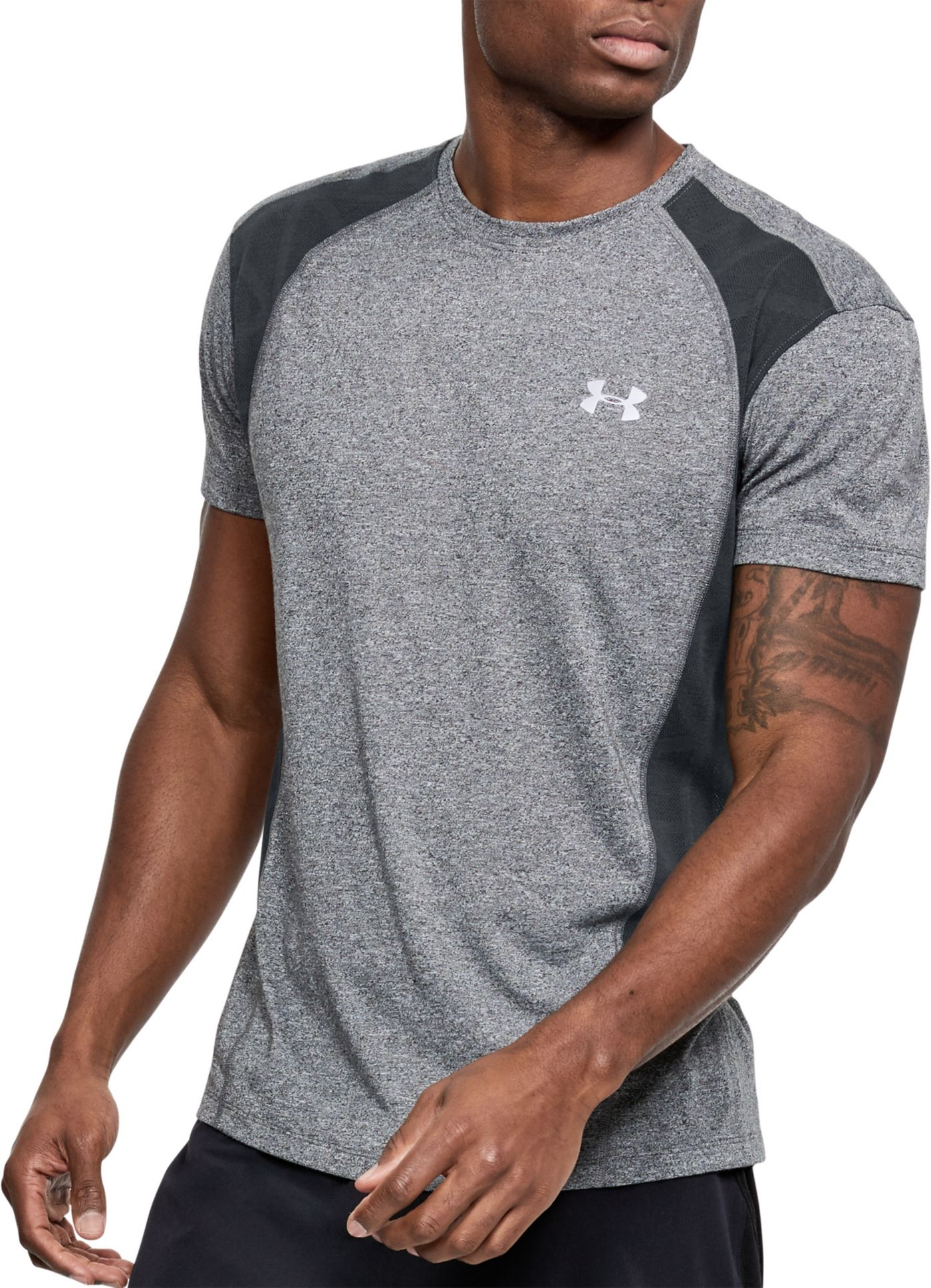 Under Armour Men's Threadborne Microthread Swyft Running T-Shirt