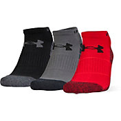 Under Armour Elevated Performance No Show Socks 3 Pack