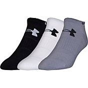 Under Armour Elevated Performance No Show Socks - 3 Pack