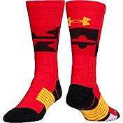 Under Armour Unrivaled Maryland Crew Socks