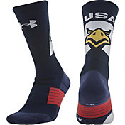 Under Armour Unrivaled USA American Crew Socks