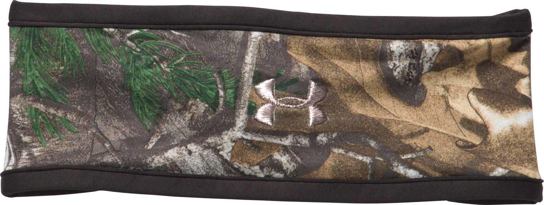 Under Armour Women's ColdGear Infrared Fleece Camo Headband, Brown