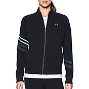 Under Armour Women's French Terry Graphic Layer Long Sleeve T-Shirt