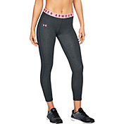 Under Armour Women's Threadborne Microthread Favorites Cropped Tights